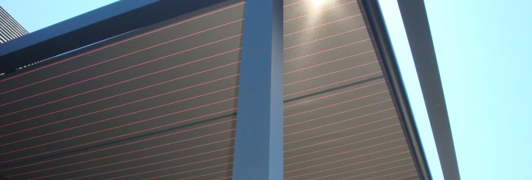 pergolas toiles horizontales PERGO11