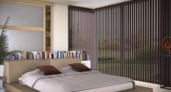 Stores intérieur bande verticale store bande verticales bois